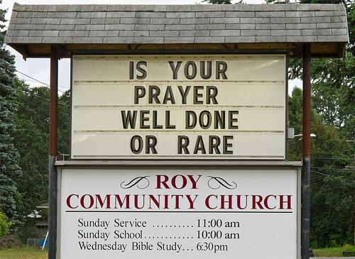 Day 207 :: 365 É Church Signs